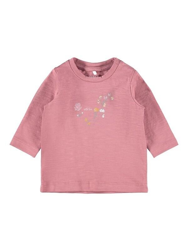 Name It Baby Girls LS T-Shirt (13191669)