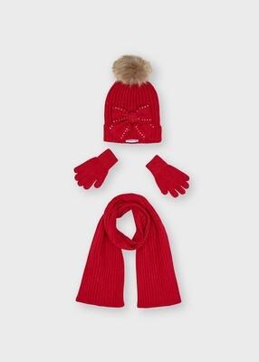 Mayoral Girls Hat & Scarf Set (10155)