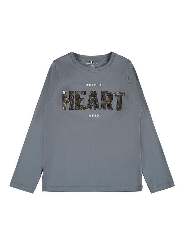 Name It Girls Cropped T-Shirt K(13193801)