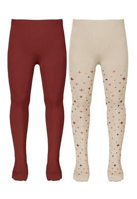 Name It Girls 2 Pack Tights M(13193134)