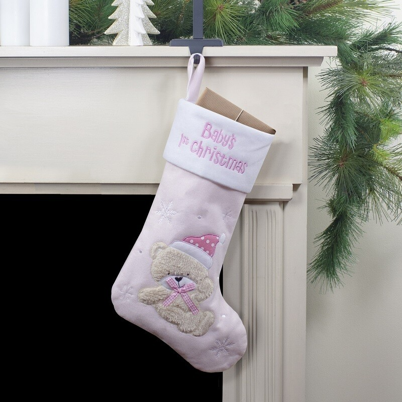 Baby's 1st Christmas Stocking (IT34471)