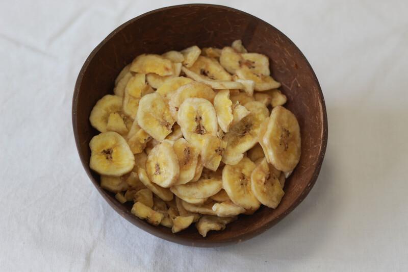 PRICE DROPS!!!!!Organic Banana Chips 250g