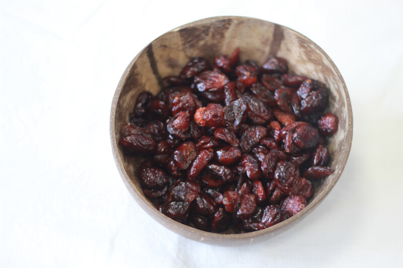 Organic Cranberries Dried 100g