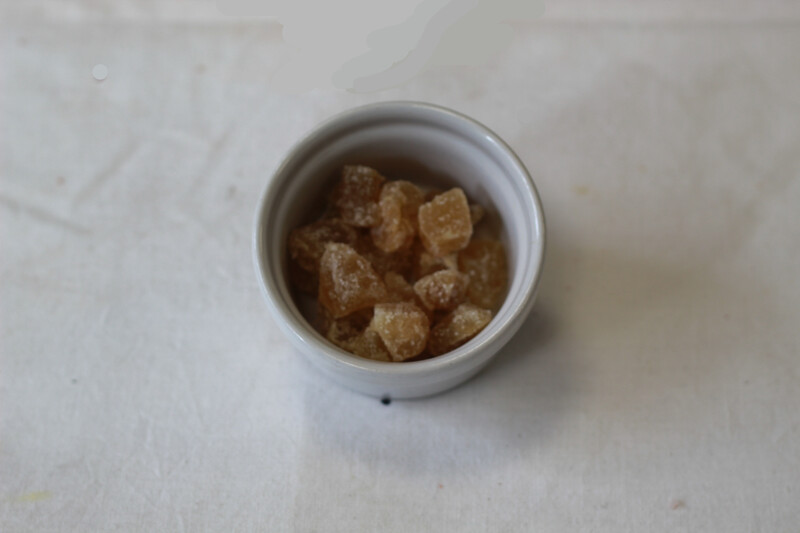 Organic Crystallised Ginger 20g