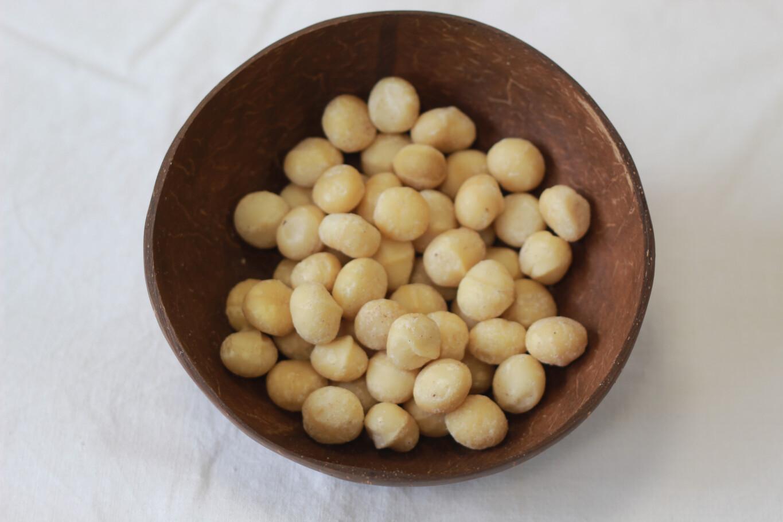 Organic Macadamia Nuts 100g