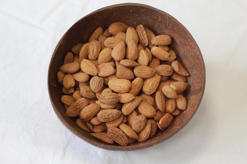 Organic Almonds Whole 100g