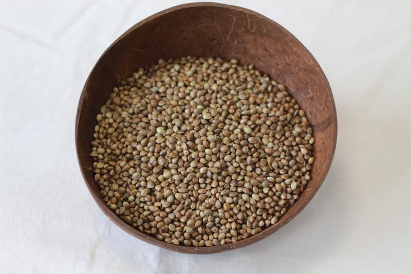Organic Hemp Seeds Whole 100g