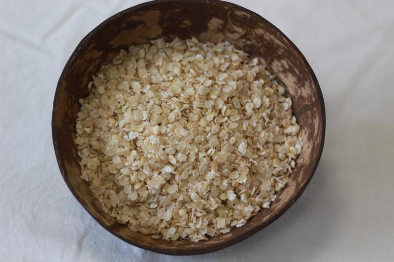 Organic Brown Rice Flakes Gluten Free 100g