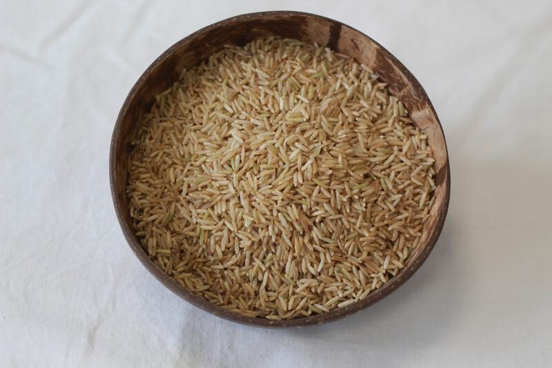 Organic Basmati Rice Brown 250g
