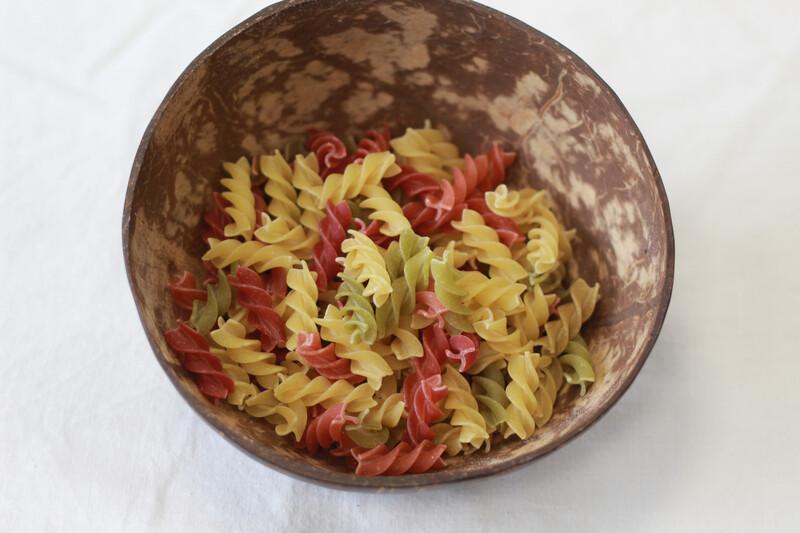 Organic Pasta Tricolour Fusilli 250g