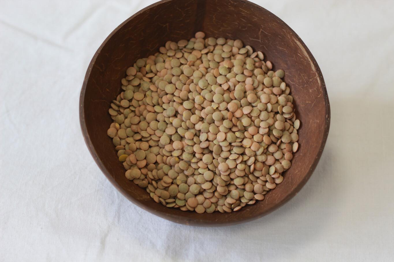 Organic Green Laird Lentils 500g