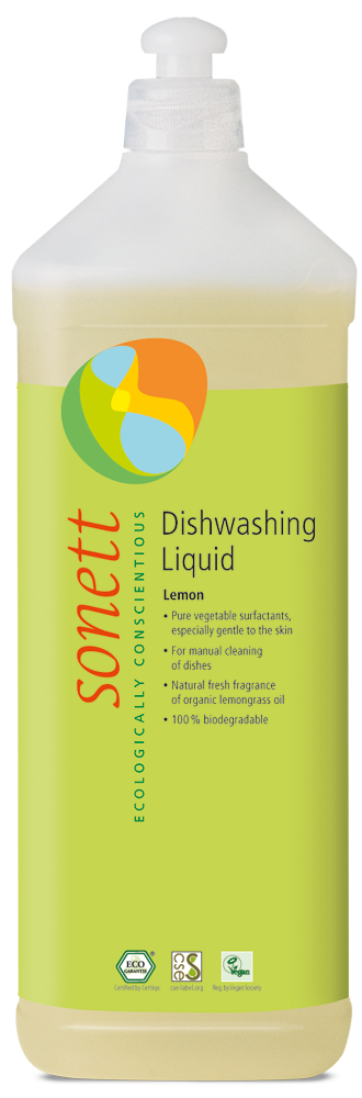 Sonett Dishwashing Liquid Lemon 1L