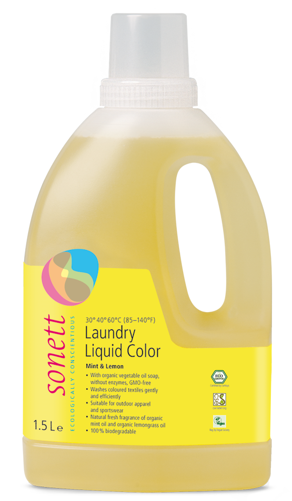 Sonett 1.5L Colour Laundry Liquid