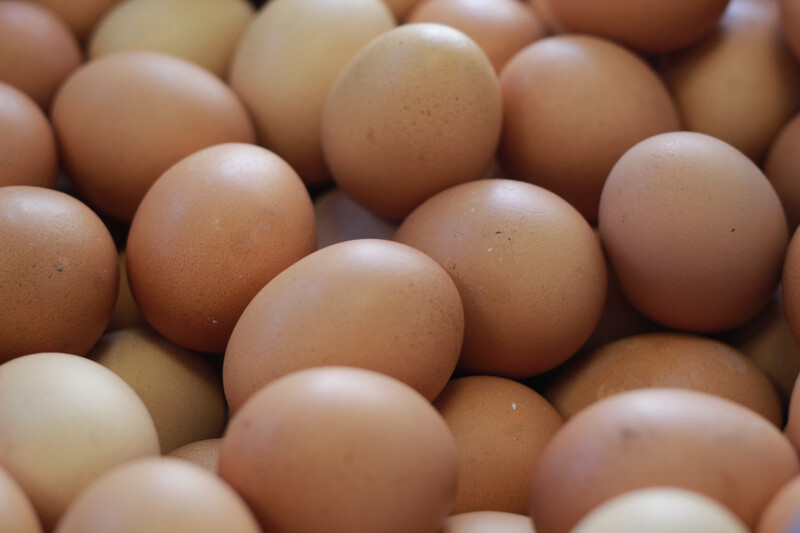 Organic Free Range Eggs 6 COLLECTION ONLY