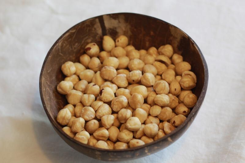 Organic Roasted Hazelnuts 100g