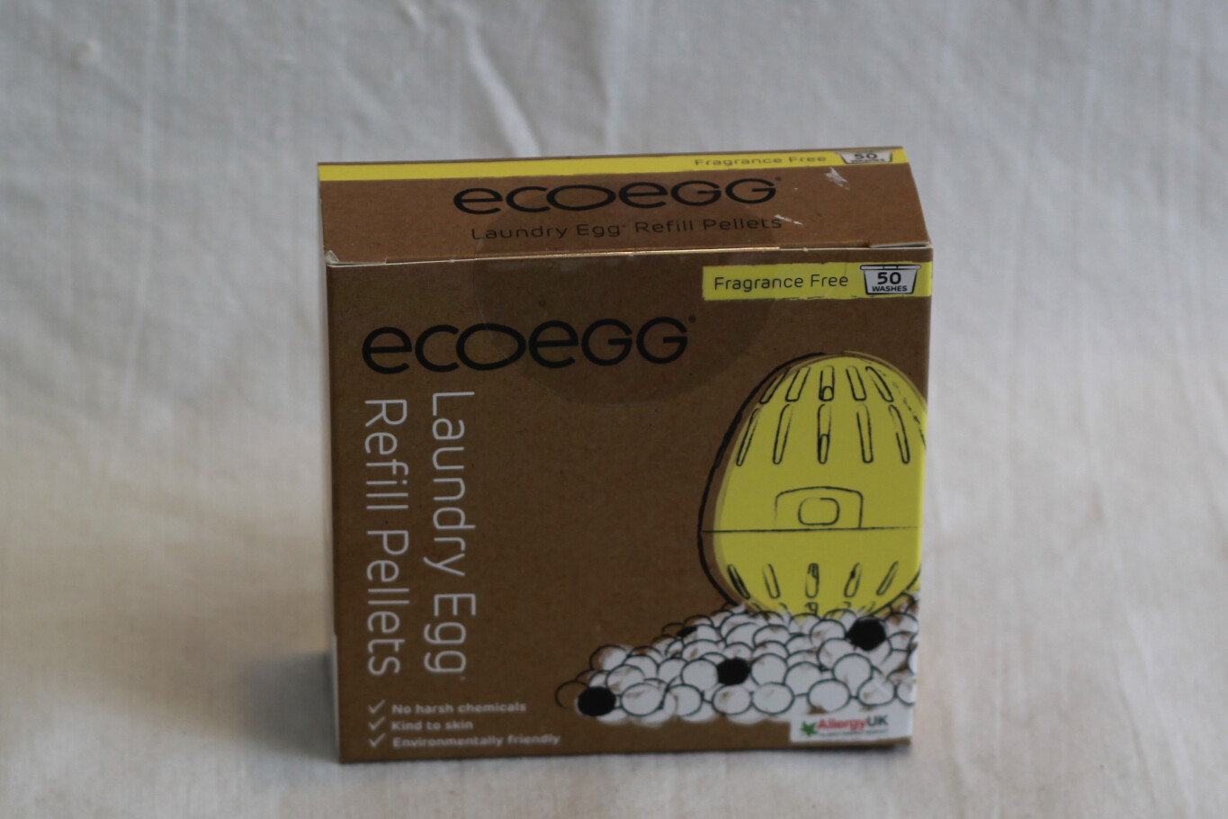 Ecoegg Laundry Egg Refill Pellets Fragrance Free
