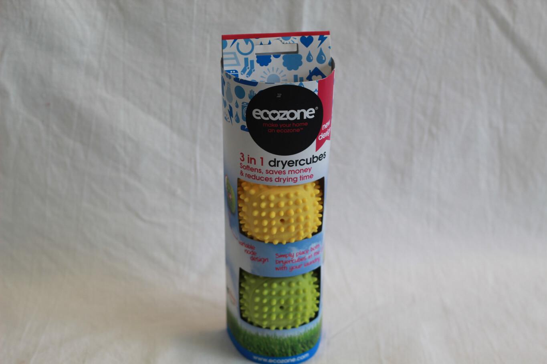 Ecozone 3 in 1 Dryer Cubes