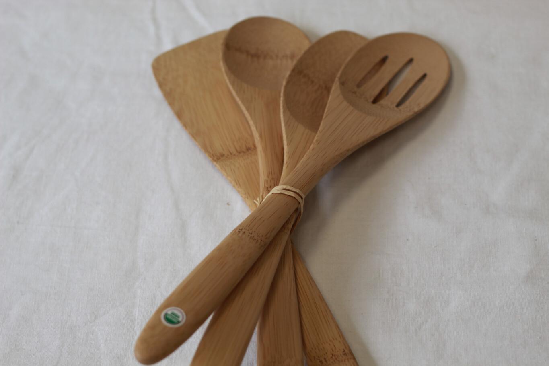 Organic Bamboo Utensils Set