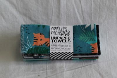SPECIAL OFFER!!!!Marleys Monsters Unpaper Towels 6pk