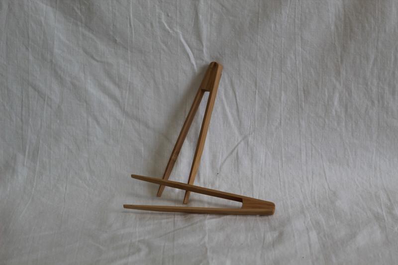 Mini Bamboo Tongs