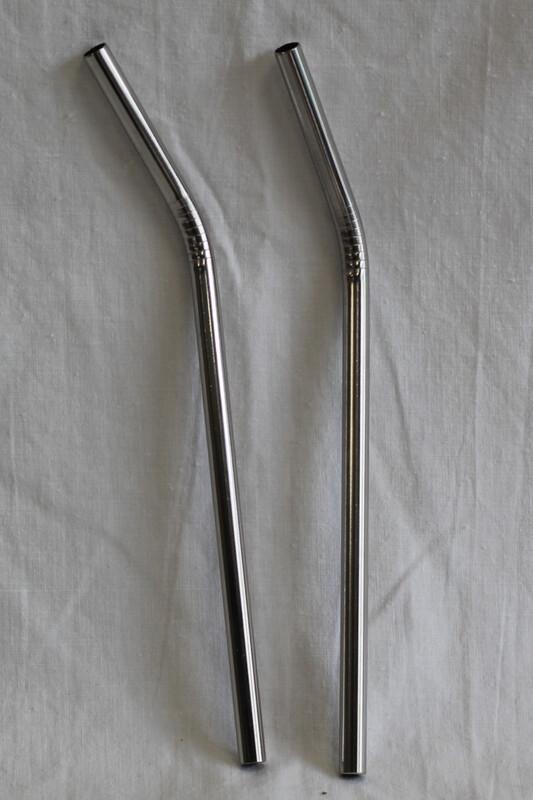 Reusable Metal Straw Single
