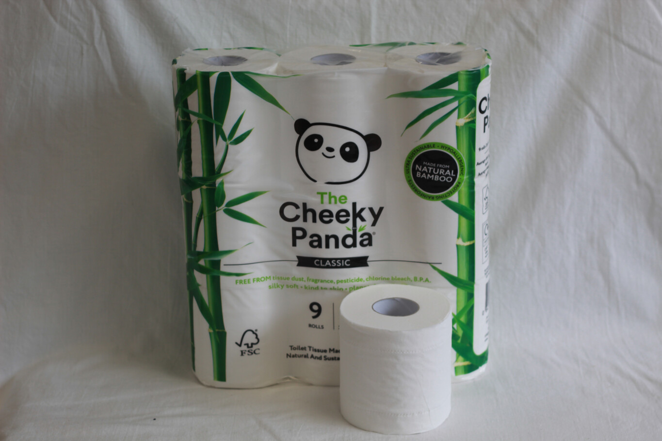 Cheeky Panda 9pk Toilet Roll