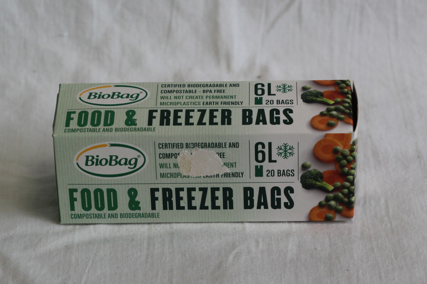 BioBag 6L Food & Freezer Bags