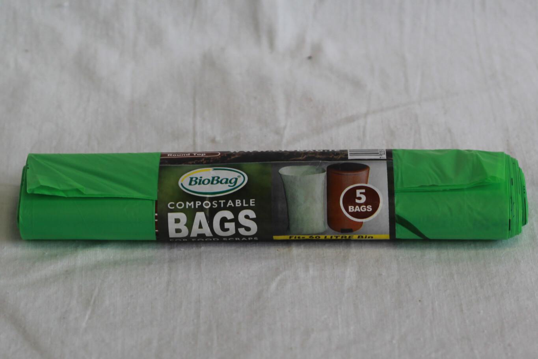 BioBag 60L Compostable Bags