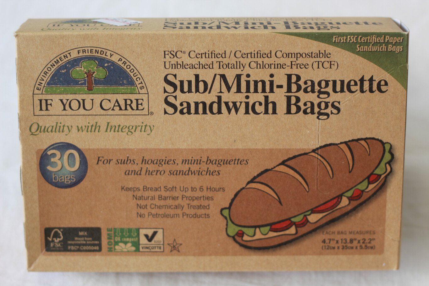 If You Care Sandwich Bags