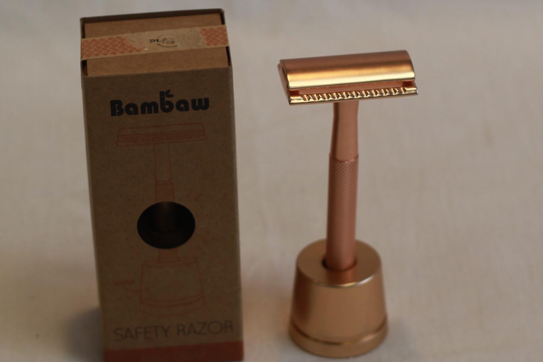 Bambaw Rose Gold Safety Razor