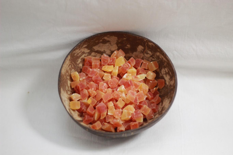 Dried Papaya Chunks 100g