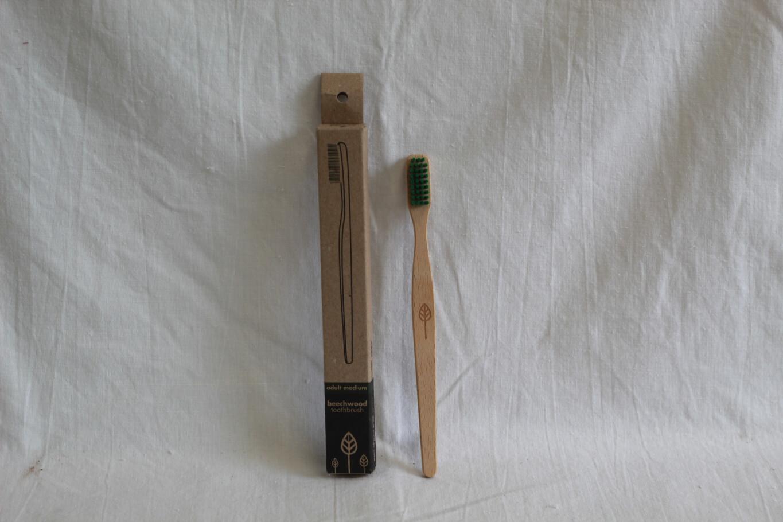 Ecoliving Adult Beechwood Toothbrush
