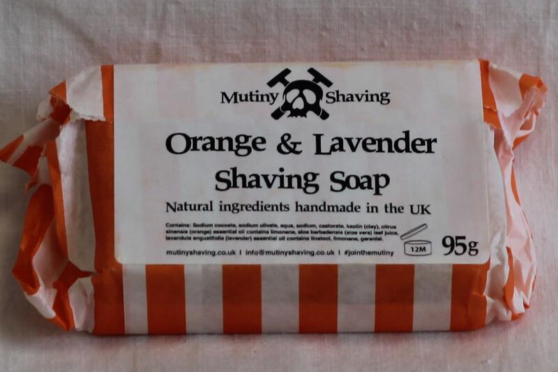 Mutiny Shaving Soap Bar