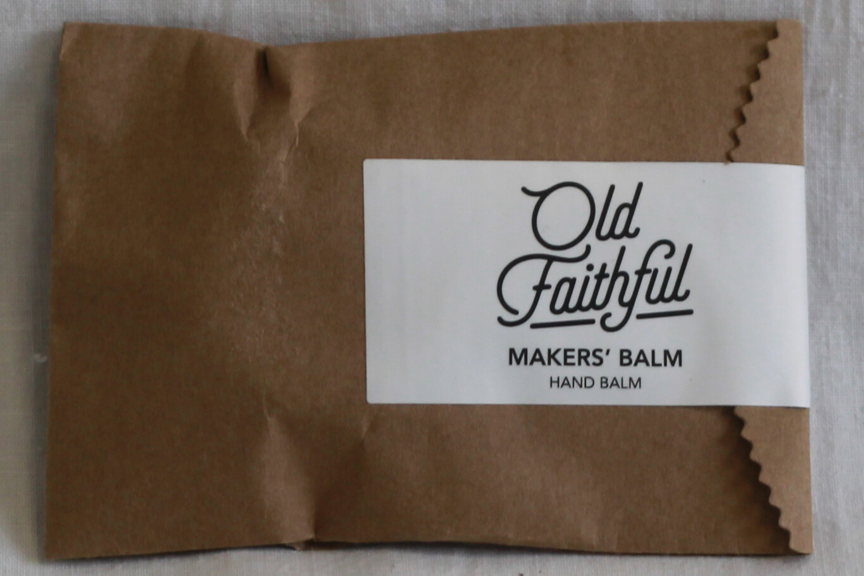 Old Faithful Mini Makers Balm Hand Balm 15ml