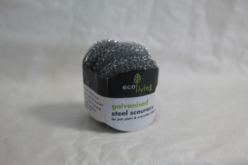 EcoLiving 3pk Steel Scourers