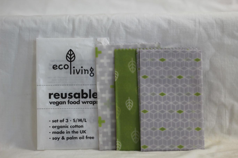 EcoLiving Vegan Food Wraps