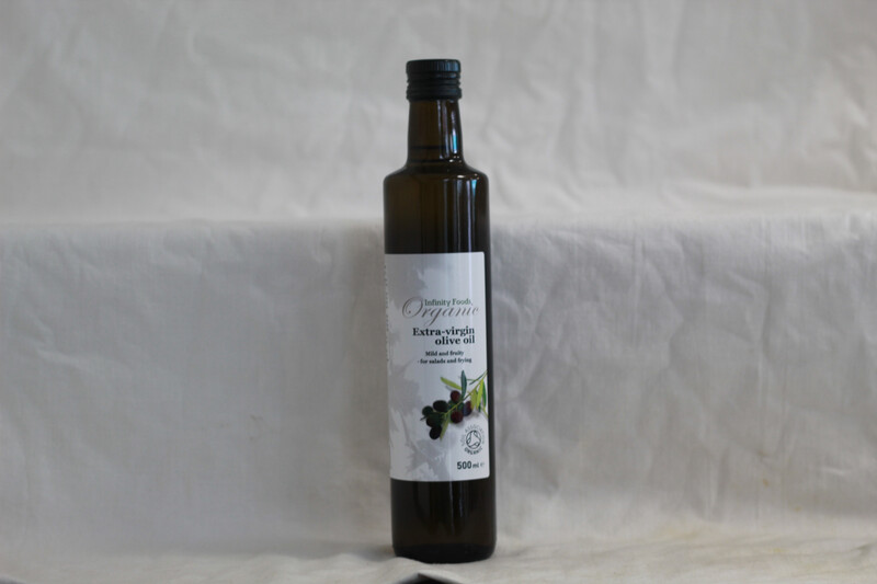 Infinity Foods Organic Extra Virgin Olive Oil 500ml