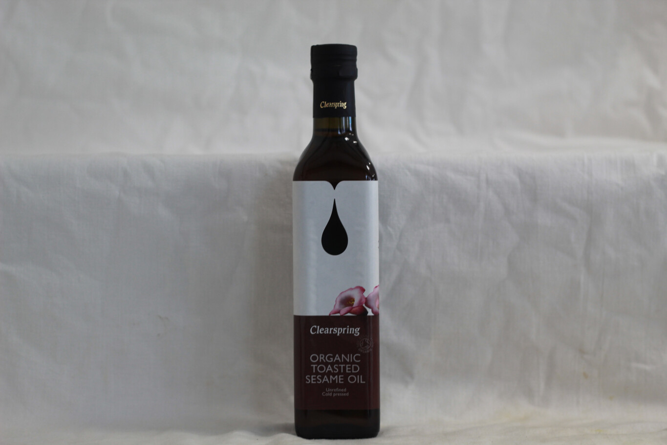 Clearspring Organic Toasted Sesame Oil 500ml