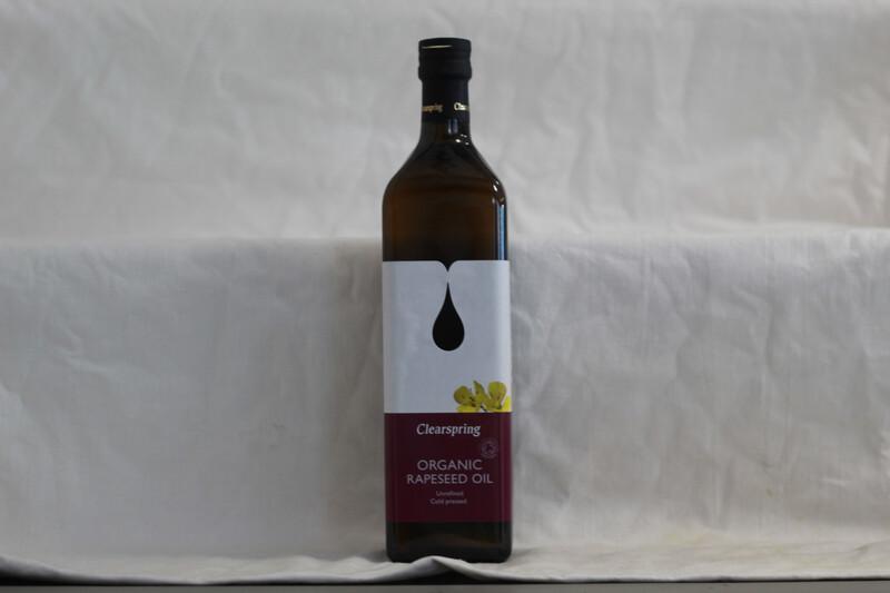 Clearspring Organic Rapeseed Oil 1L