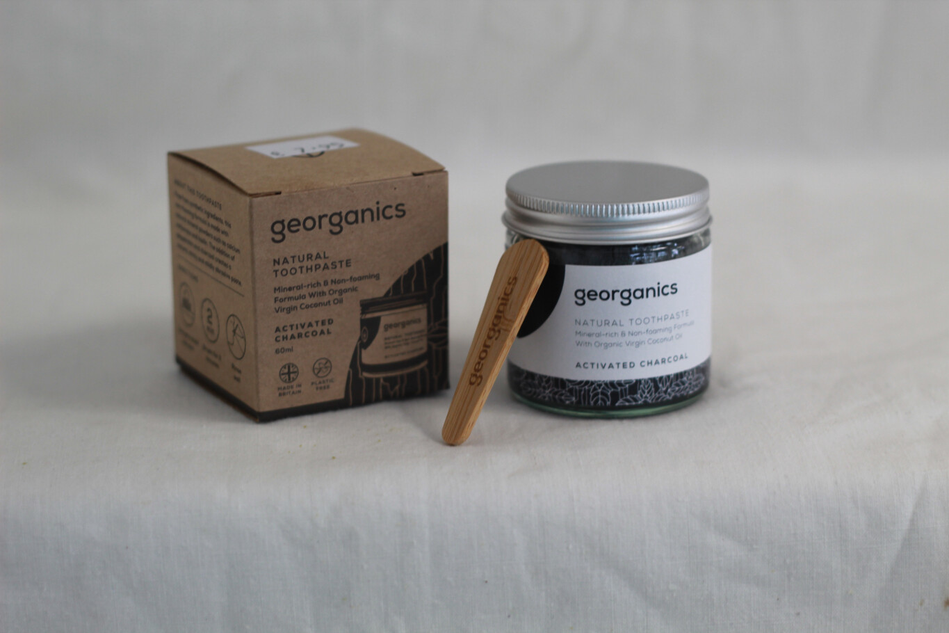 Geoganics Natural Toothpaste Activated Charcoal 60ml