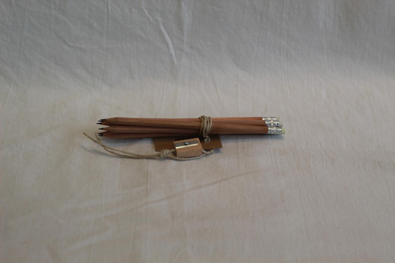 Wooden Pencils 6pk