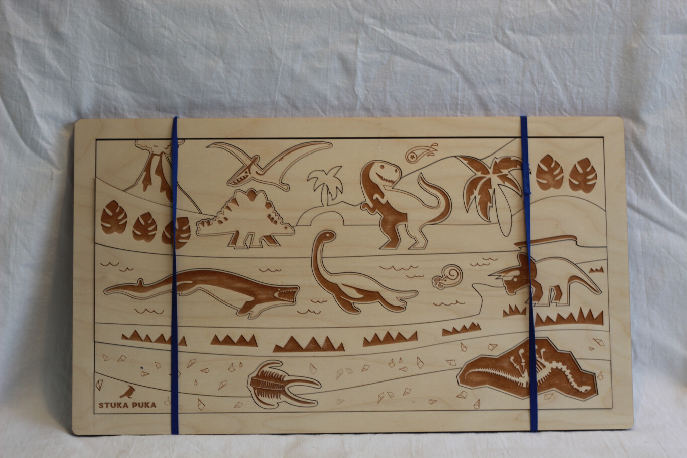 REDUCED TO CLEAR!!!! Dinosaur Wooden Puzzle