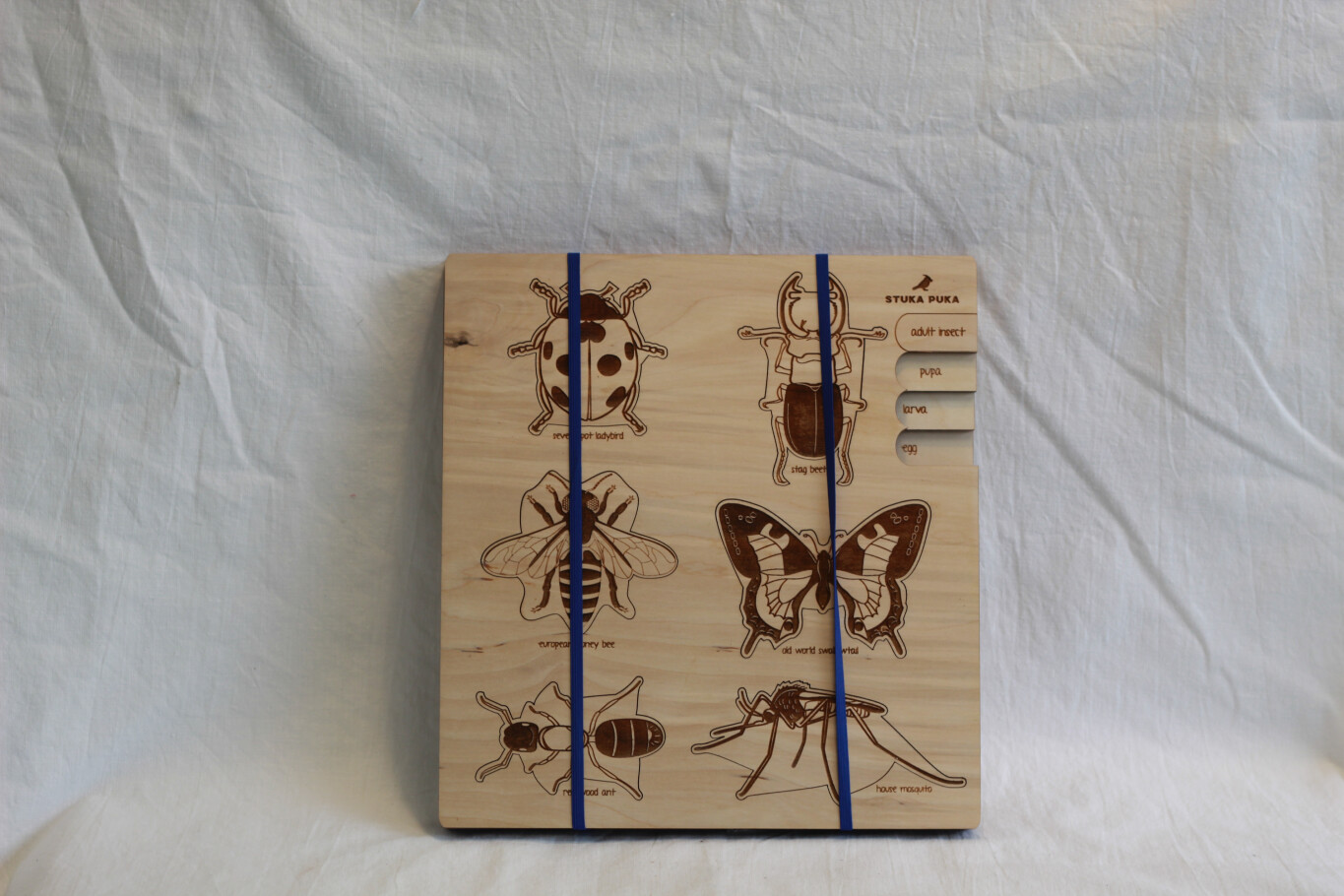 REDUCED TO CLEAR!!!! Bugs Wooden Puzzle