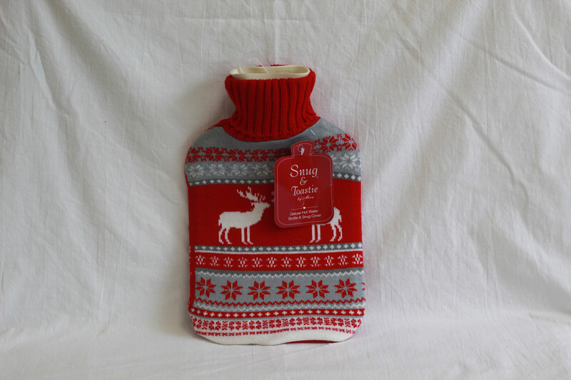 Deluxe Hot Water Bottle & Snug Cover