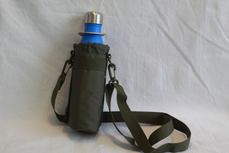 Khaki Green Bottle Carrier