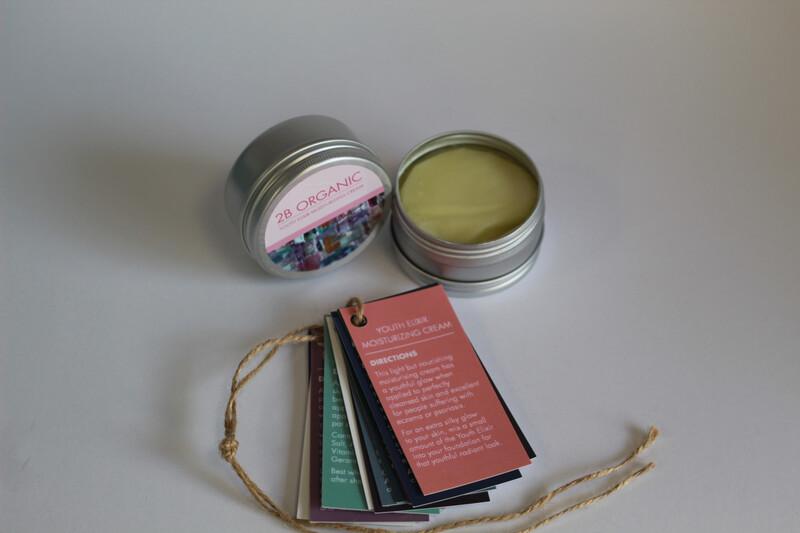 2B Organic Youth Elixir Moisturising Cream