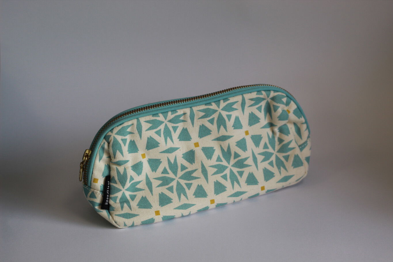 Organic Cotton Makeup Bag/Pencil Case
