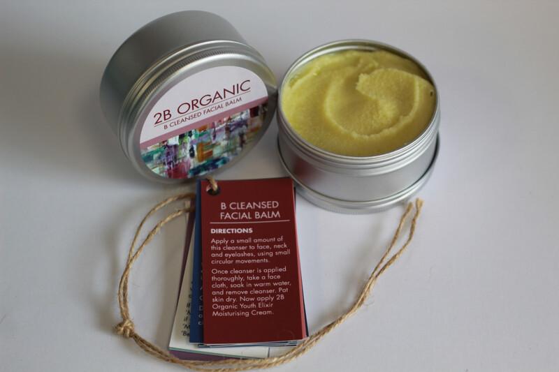 2B Organic Facial Cleansing Balm
