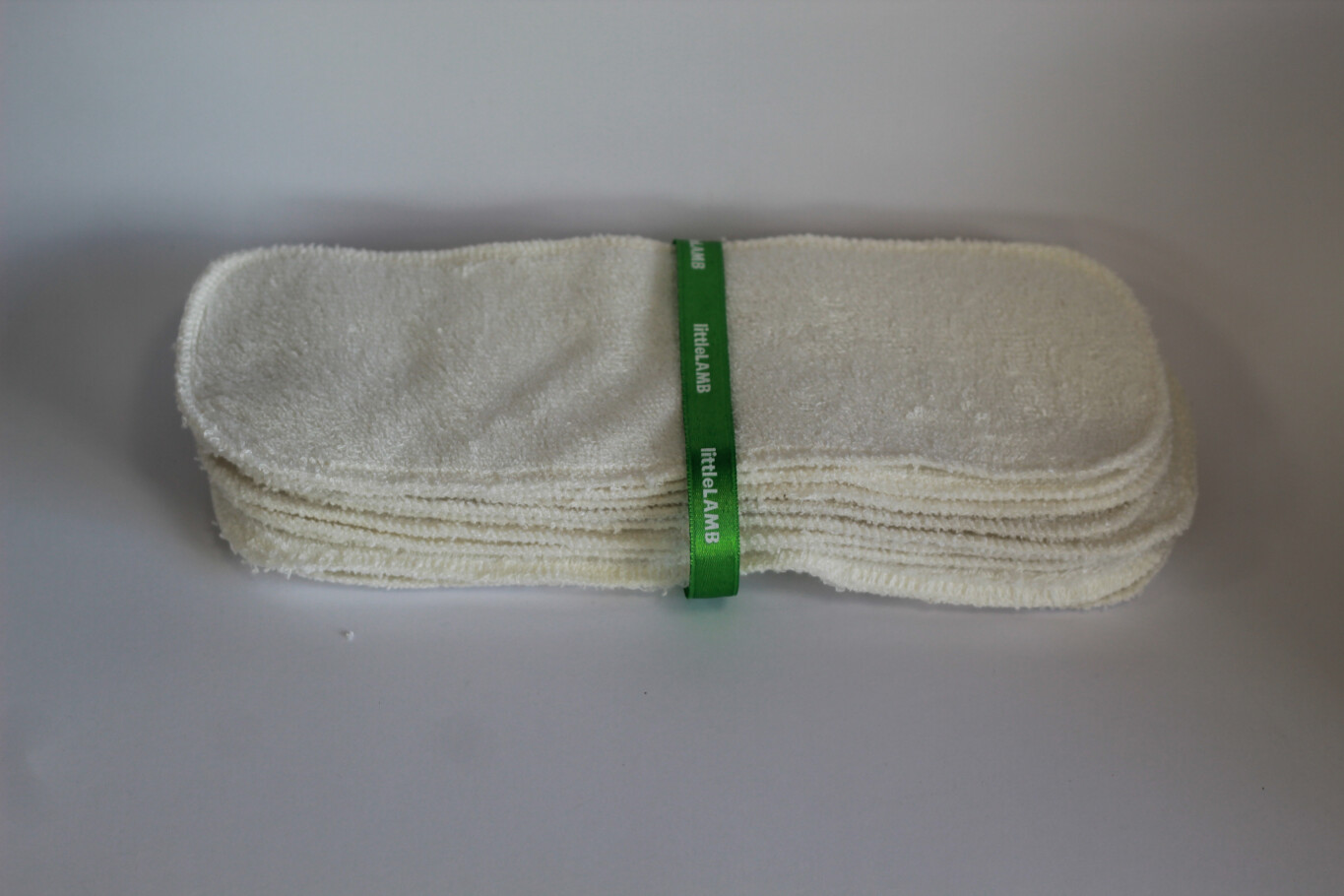Little Lamb Size 1 Bamboo Boosters Double Thickness 10pk