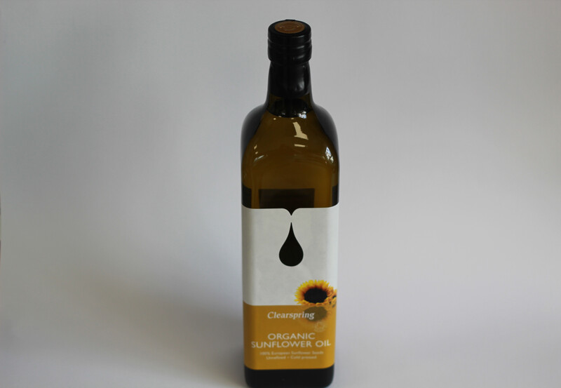 Clearspring Organic Sunflower Oil 1L